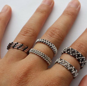 Woven Wire Rings