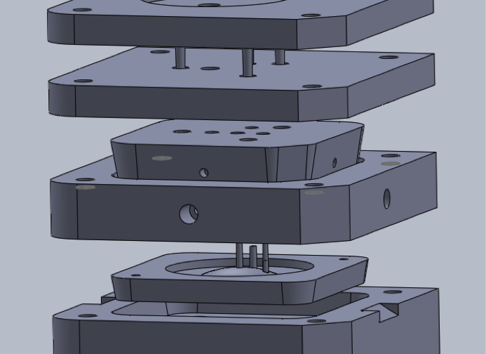 Injection Mold CAD