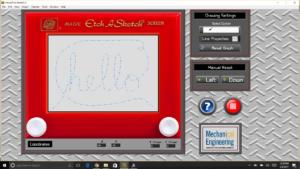Motorized Etch-a-Sketch GUI