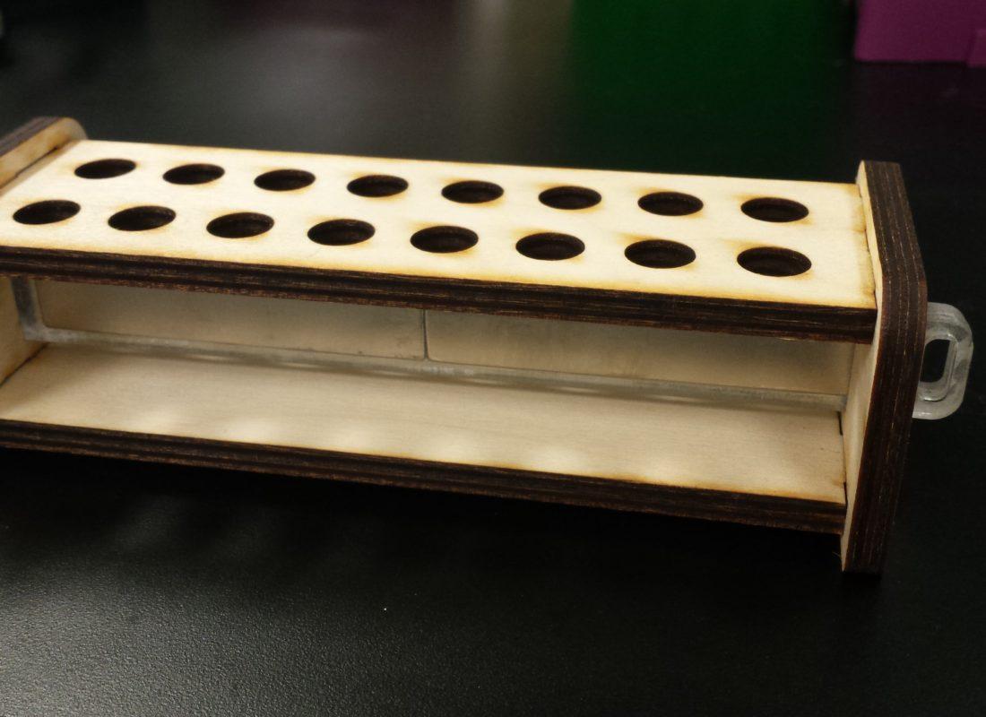 Magnetic Tube Rack