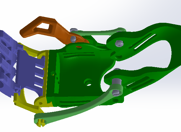 Redesigned Hand CAD